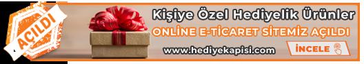 ONLİNE E-TİCARET SİTEMİZ AÇILDI www.hediyekapisi.com