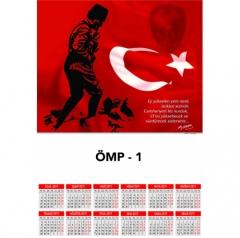 Ankara ÖMP-1 Poster Takvim