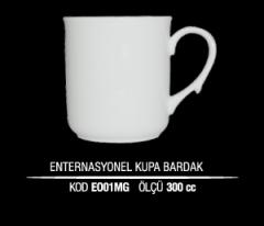 Ankara Porselen Enternasyonel Kupa Bardak EO01MG (Seramik Değildir)