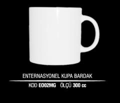 Ankara Porselen Enternasyonel Kupa Bardak EO02MG (Seramik Değildir)