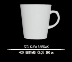 Ankara Porselen Ezgi Kupa Bardak EZ01MG (Seramik Değildir)