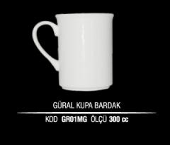 Ankara Porselen Güral/Kütahya Kupa Bardak GR01MG (Seramik Değildir)