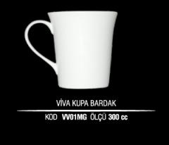Ankara Porselen Viva Kupa Bardak VV01MG (Seramik Değildir)