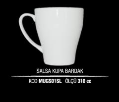Ankara Porselen Salsa Kupa Bardak MUGS01SL (Seramik Değildir)
