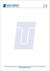 Promosyon A-4 Boy Antetli Kağıt 80 gr. 1 hamur ( 4 Renk Baskı )